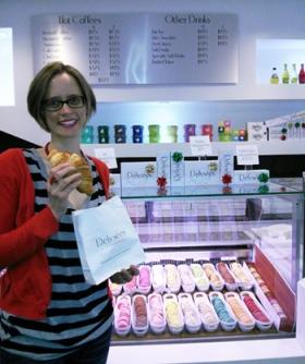Alison Kooistra at Delysées.