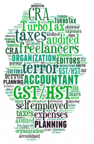 Taxes wordcloud