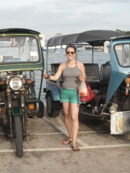 Denise Steller on Koh Chang Island in Thailand.