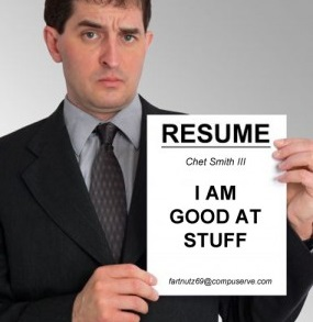 The resumé, every which way: Show, don't tell