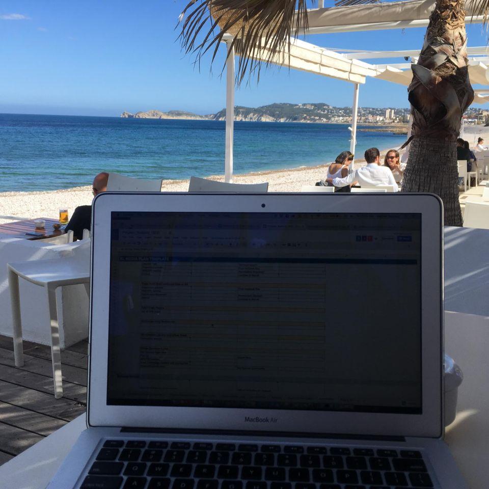 Beach editing