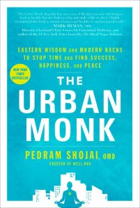 The Urban Monk by Pedram Shojai book cover