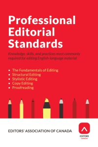 Professional Editorial Standards