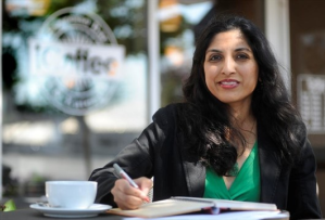 Photo of Ranjini George by Fred Loek for Mississauga News
