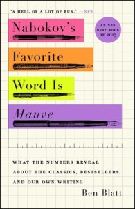 Cover of Nabokov's Favorite Word Is Mauve by Ben Blatt