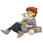 Illustration of Megan Kearney