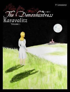 The Demonhuntress English cover