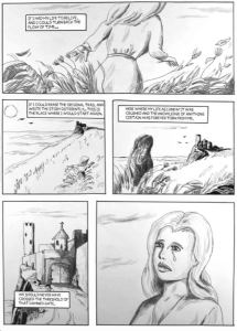 Page sample from The Demonhuntress